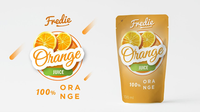 Packaging Design for juice brand