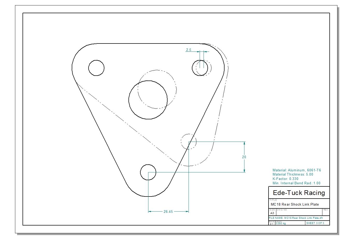 Nsr250 Forum Rear Shock Link Plate Options Part 1