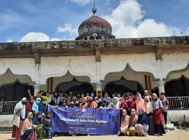 Laksanakan AgendaTahunan, PMLS Rakan Sekato Gelar Bakti Sosial di Bulan Ramadhan