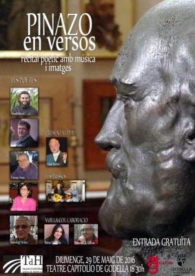 Cartell oficial del recital -dissenyat per Leti García-