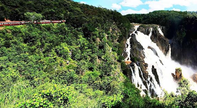 trem Barron Falls – Austrália