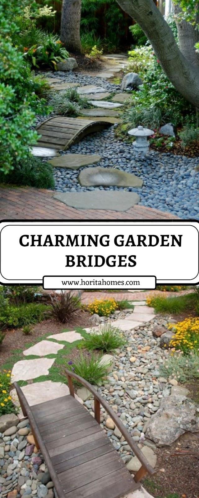 CHARMING GARDEN BRIDGES