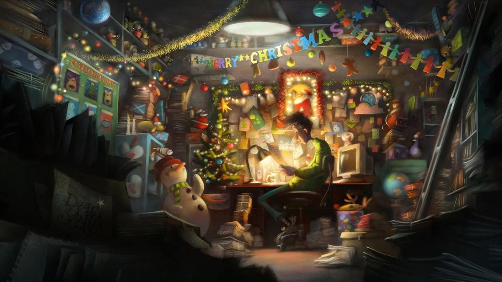 to the escape hatch! Festive Scene Friday! Arthur Christmas