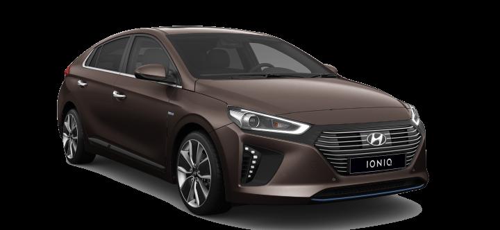 Hyundai IONIQ Hybrid (2017) - Couleurs / Colors