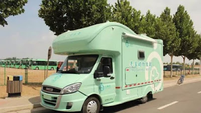 China's first ambulance for stray animals stays off the road