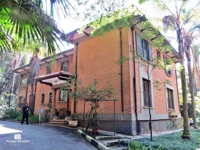 Vista ampla do Casarão de Afrânio do Amaral - Instituto Butantan - São Paulo