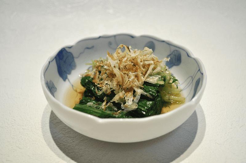 makanan khas jepang yang terbuat dari bayam
