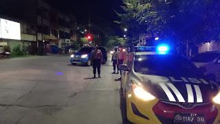 Tekan Tindak Kriminalitas Saat Pandemi, Polres Pelabuhan Makassar Rutin Patroli Biru