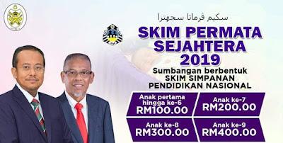 Permohonan Skim Permata Sejahtera 2019 YPKT (Borang)