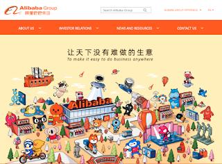 Alibaba Group Website