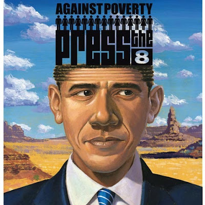 fotomontaje o ilustración barak obama