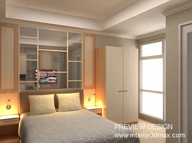 Jasa 3D Interior design Style Contemporary