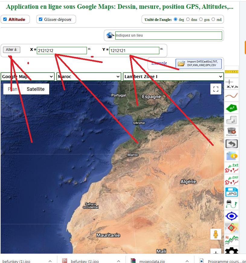 coordonnées image map, google maps coordonnées lambert, google maps coordonnées xy,