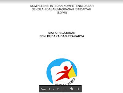 Contoh KI Dan KD Kelas 3 Kurikulum 2013 Tahun 2018 (GuruMatPel)