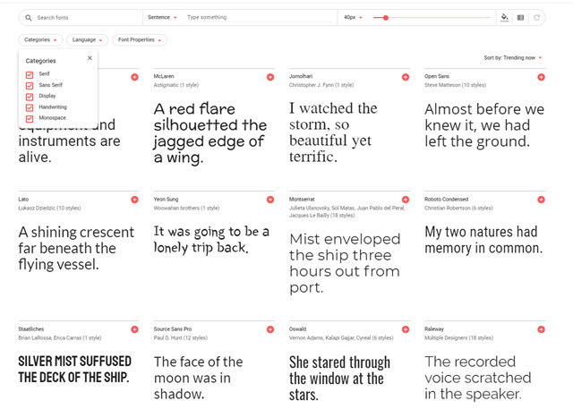 google-fonts-caratteri-gratis