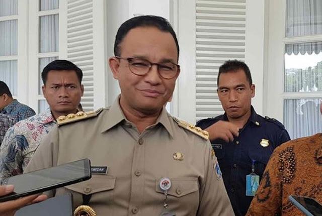 Gubernur Anies Baswedan : Hampir Semua Kecamatan di Jakarta Ada Kasus Corona