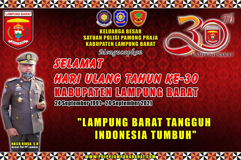 Hari Ulang Tahun Ke-30 Kabupaten Lampung Barat