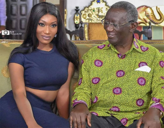 Wendy Shay Apologises To Kufuor Over Photo