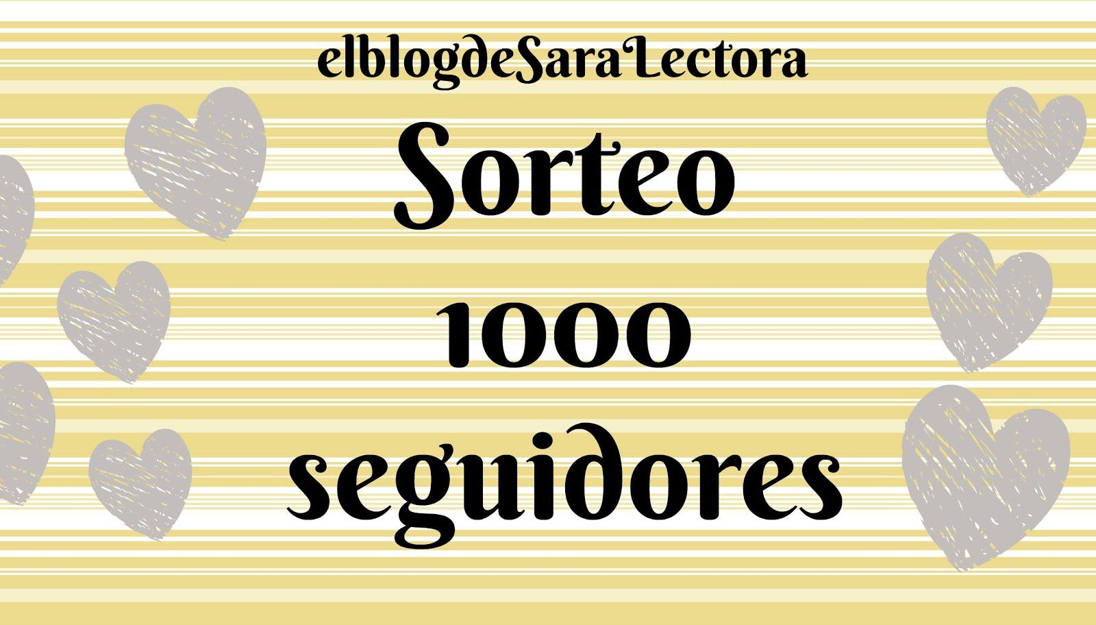 SORTEO: El blog de Sara Lectora