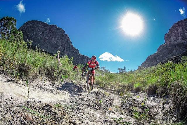 Desafio de Mountain Bike Mucugê na Chapada Diamantina. (Foto: Reprodução)