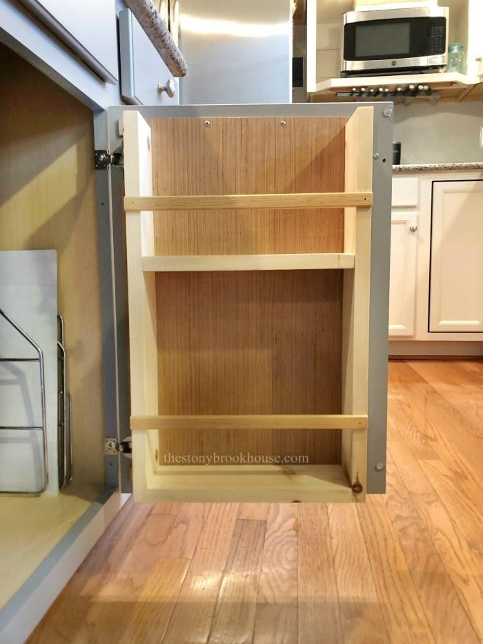 Empty Cabinet Door Organizer