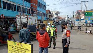 Giat Oprasi Yustisi Polsek Rancaekek Polresta Bandung Sampaikan Imbauan 5M