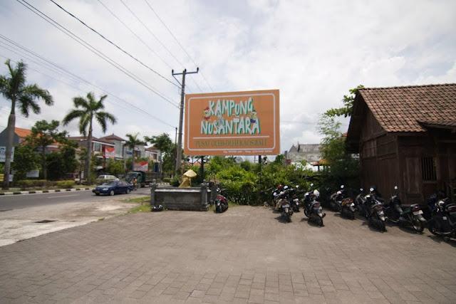 Tempat Wisata Belanja di Bali yaitu Kampung Nusantara