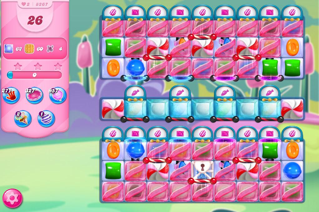 Candy Crush Saga level 8267