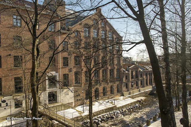 Antiguas Industrias en el Akerselva - Oslo por El Guisante Verde Project