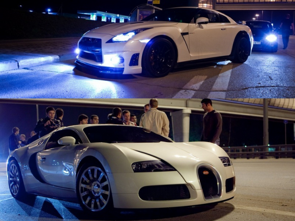 bugatti veyron vs nissan gtr 2017 beutifule find out for yourself new world. Black Bedroom Furniture Sets. Home Design Ideas