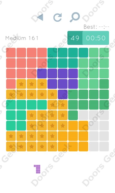 Cheats, Walkthrough for Blocks and Shapes Medium Level 161