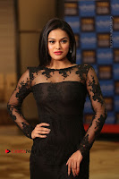 Actress Soniya Stills in Beautiful Black Long Dress at SIIMA Short Film Awards 2017 .COM 0033.JPG