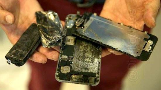 lg indenizar consumidora explosao celular carregava