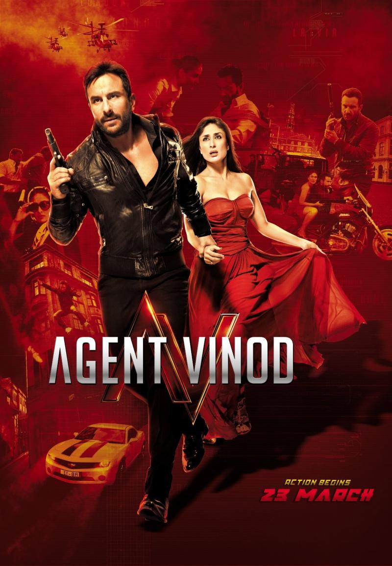 Agent Vinod เอเจ้นท์ วิโนท พยัคฆ์ร้าย หักเหลี่ยมจารชน [HD][พากย์ไทย]