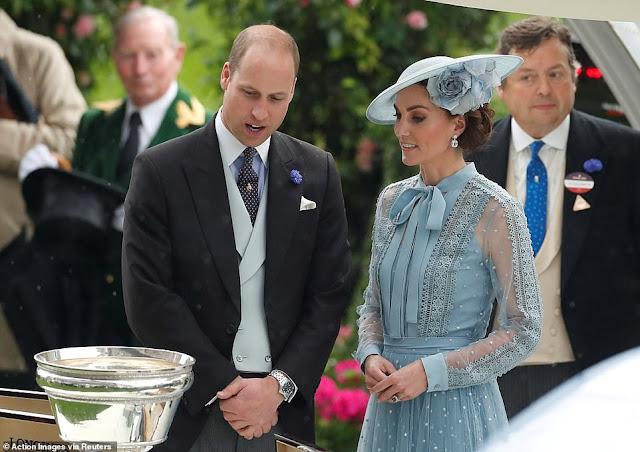 Rodzina Królewska na Royal Ascot