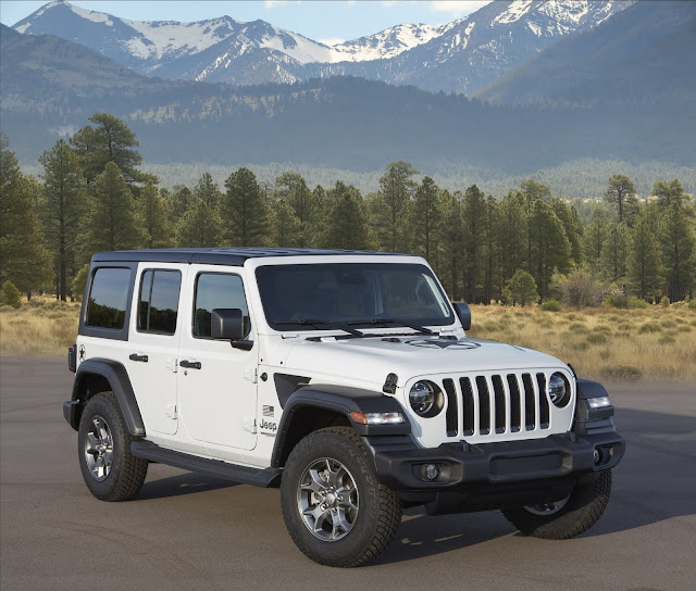 Jeep Getting Greener; Wrangler's Environmental Impact Reduced by 15 Percent
