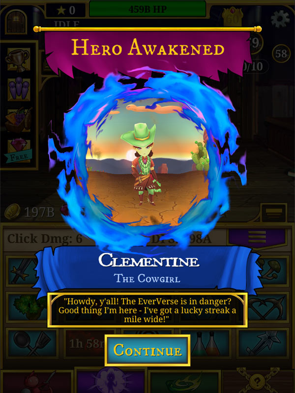 Around the Spiral with Edward Lifegem: EverClicker Launches