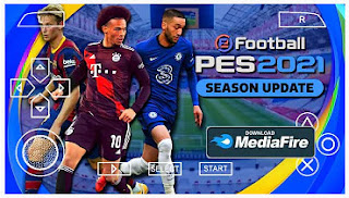 Download eFootball PES 2021 PPSSPP Chelito Real Faces Hairs Players & New Transfer