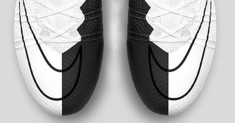 545bf70dc Black and White Nike Mercurial Superfly Boots by Nick Texeira - cheap  soccer cleats