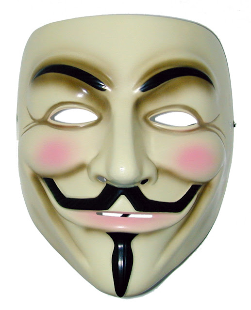 You are anonymous: Guy Fawkes Mask
