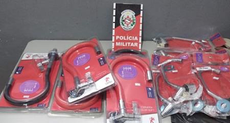 Polícia prende trio suspeito de furtar lojas em oito municípios paraibanos