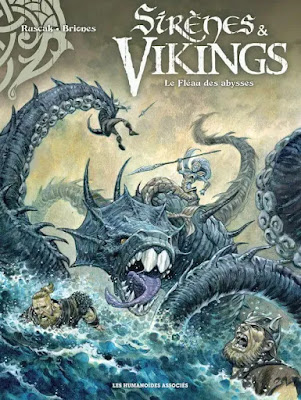 BD Sirènes & Vikings tome 1 - Le fléau des abysses