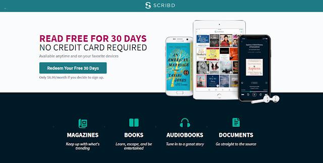 Akses Percuma Kepada Buku Digital scribd