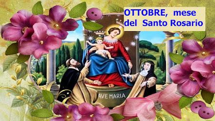 »✿« ● Ottobre, mese del Santo Rosario. Satana perde il suo potere quando si recita il Mio Rosario ●