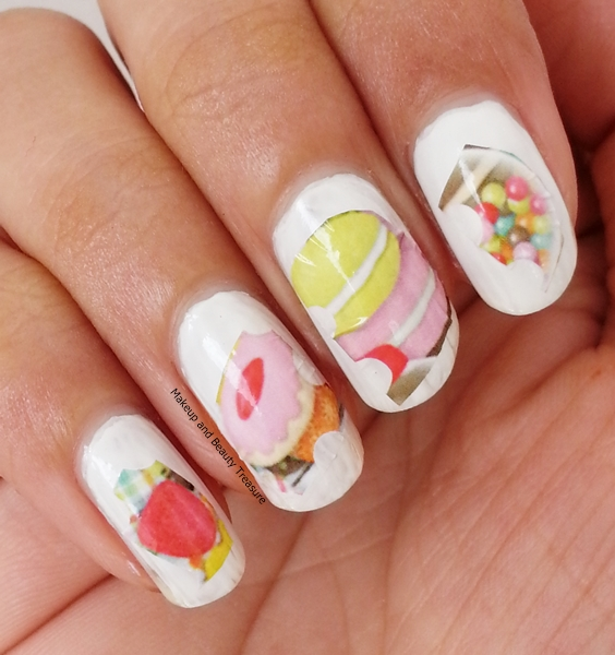 Makeup And Beauty Treasure Cute Macaron Nail Art Water Decals Review Ft Born Pretty Store