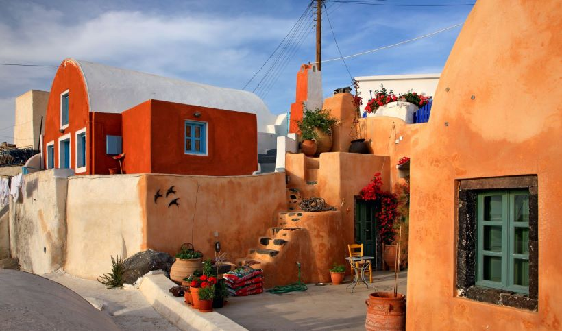 Foinikia village in Santorini - Ioanna's Notebook