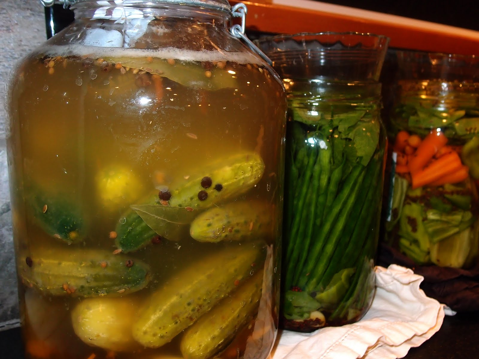 pickles and fermentation Lacto-fermentation, named for the lactic acid it produces, is a traditional method  of preserving vegetables and enhancing their nutritional value using only salt,.