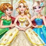 لعبة تلبيس بنات فساتين عرائس