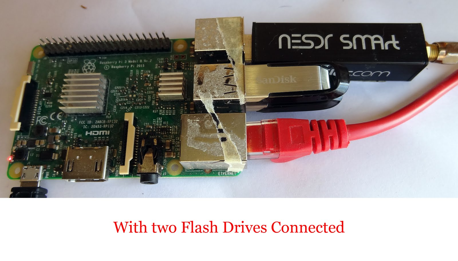 Radio for Everyone: Pi 3 Network Attached Storage
