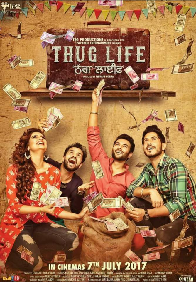 full cast and crew of Punjabi movie Thug Life 2017 wiki, Thug Life story, release date, Thug Life Actress name poster, trailer, Photos, Wallapper
